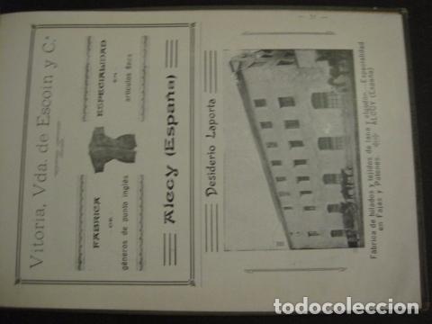 Papel de fumar: ALCOY - ARTISTICO E INDUSTRIAL -ALBUM FOTOS 1916 -MUCHA PUBLICIDAD-PAPEL FUMAR.- VER FOTOS -(V-6731) - Foto 52 - 63186484