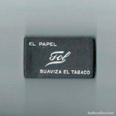 Papel de fumar: PAPEL GOL · CAJA CON 6 LIBRILLOS DE LIAR FUMAR ENROLAR SUAVIZA EL TABACO · CAJITA NUEVA A ESTRENAR. Lote 63898283