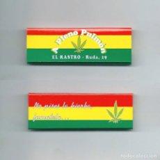 Papel de fumar: A PLENO PULMON NO PISES LA HIERBA FUMATELA CANNABIS MARLEY JAMAICA ROLLING PAPER PAPEL DE FUMAR LIAR. Lote 63989027