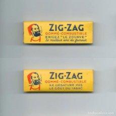 Papel de fumar: ZIG-ZAG LE ZOUAVE MEILLEUR PAPIER FUMEUR PAPIER ZIGZAG ROLLING PAPER LIBRILLO PAPEL DE FUMAR LIAR. Lote 63989687