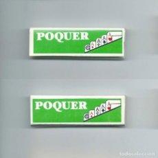 Papel de fumar: POQUER ANTIGUO LIBRILLO NUEVO · ALARGADO · COMPLETO · ROLLING PAPER PAPEL DE FUMAR LIAR PAPIER POKER. Lote 63989819