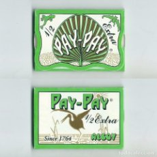 Papel de fumar: PAY PAY 1/2 EXTRA SINCE 1764 ALCOY LIBRILLO ROLLING PAPER PAPEL DE FUMAR LIAR PAPIER ENROLAR PAYPAY. Lote 63989919