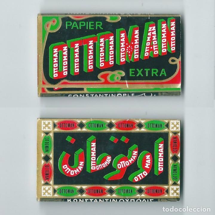 OTTOMAN PAPER EXTRA CONSTANTINOPLE LIBRILLO NUEVO PAPEL DE FUMAR LIAR ENROLAR ROLLING PAPER (Coleccionismo - Objetos para Fumar - Papel de fumar )