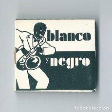 Papel de fumar: BLANCO Y NEGRO J. LAPORTA VALOR ALCOY VITELA CENIZA BLANCA ENGOMADO PAPEL DE LIAR FUMAR LLENO NUEVO. Lote 63990707