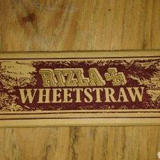 Papel de fumar: PAPEL DE FUMAR RIZZLA WHEETSTRAW. Lote 65702627