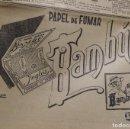 Papel de fumar: PUBLICIDAD EN PRENSA DE PAPEL DE FUMAR BAMBÚ, MEDIA PÁGINA. AÑO 1934. BUEN ESTADO.. Lote 65898342