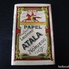 Papel de fumar: PAPEL DE FUMAR ATALA INDUSTRIA URUGUAYA. Lote 132959729