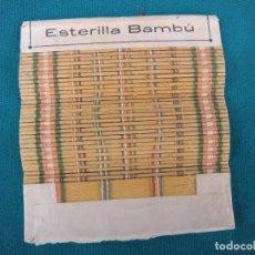 Papel de fumar: ESTERILLA DE LIAR PAPEL DE FUMAR BAMBÚ. Lote 67455449