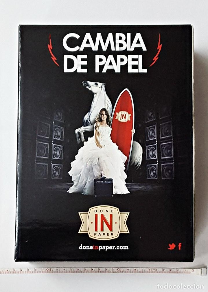 Papel de fumar: Caja de carton expendedora de papel de fumar Done in Paper. - Foto 3 - 68863737
