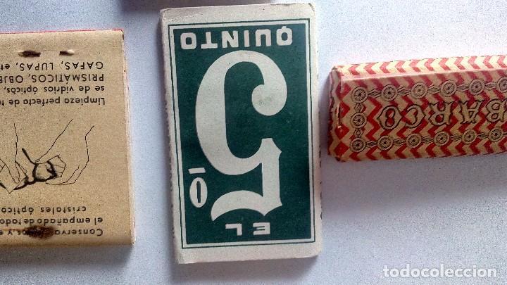 Papel de fumar: LOTE DE LIBRILLO LLENO DE PAPEL DE FUMAR Y LIBRILLO PAPEL LIMPIAR CRISTALES DE GAFAS ANTIGUOS - Foto 4 - 71942243
