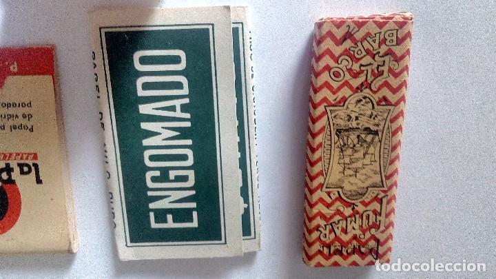Papel de fumar: LOTE DE LIBRILLO LLENO DE PAPEL DE FUMAR Y LIBRILLO PAPEL LIMPIAR CRISTALES DE GAFAS ANTIGUOS - Foto 6 - 71942243