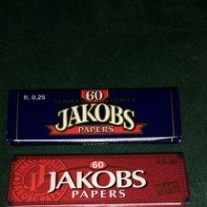 Papel de fumar: TRES LIBRITOS PAPEL DE FUMAR JAKOBS. Lote 75904733