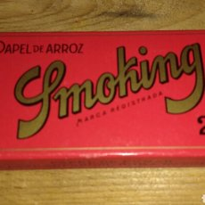 Papel de fumar: ANTIGUO PAPEL DE FUMAR SMOKING 200. Lote 75996533