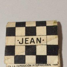 Papel de fumar: PAPEL DE FUMAR JEAN. Lote 78047783