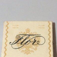 Papel de fumar: PAPEL DE FUMAR FLOR PAYA. Lote 78047942