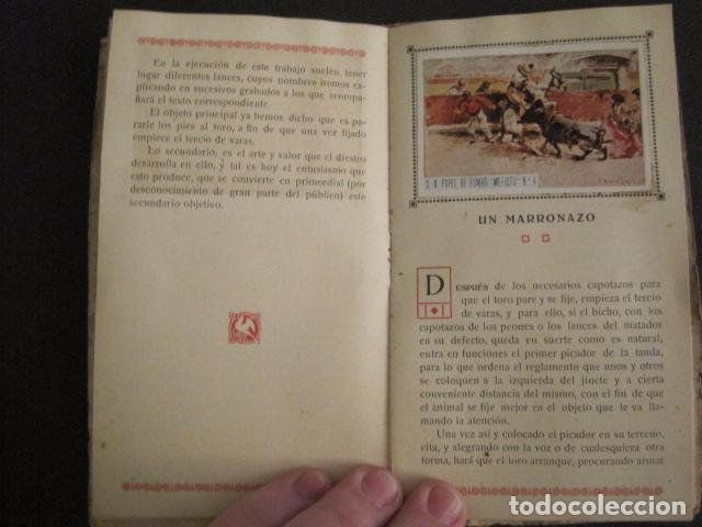 Papel de fumar: ALBUM PAPEL DE FUMAR MEFISTO - CORRIDA DE TOROS - COMPLETO -VER FOTOS - (V-9593) - Foto 7 - 79165941
