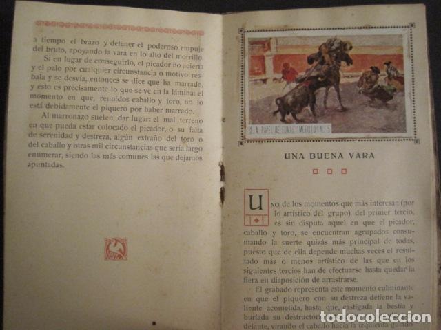 Papel de fumar: ALBUM PAPEL DE FUMAR MEFISTO - CORRIDA DE TOROS - COMPLETO -VER FOTOS - (V-9593) - Foto 8 - 79165941