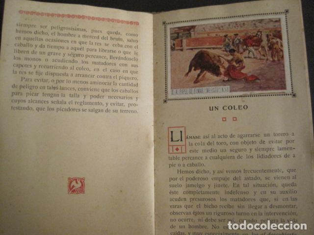 Papel de fumar: ALBUM PAPEL DE FUMAR MEFISTO - CORRIDA DE TOROS - COMPLETO -VER FOTOS - (V-9593) - Foto 11 - 79165941