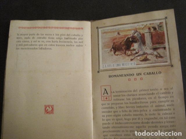 Papel de fumar: ALBUM PAPEL DE FUMAR MEFISTO - CORRIDA DE TOROS - COMPLETO -VER FOTOS - (V-9593) - Foto 13 - 79165941