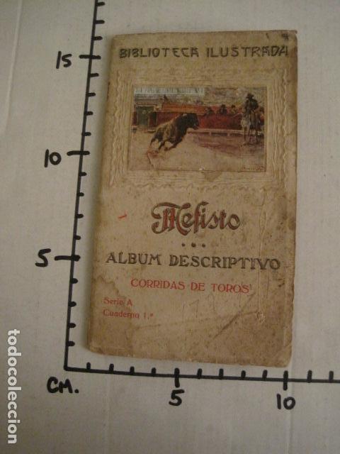 Papel de fumar: ALBUM PAPEL DE FUMAR MEFISTO - CORRIDA DE TOROS - COMPLETO -VER FOTOS - (V-9593) - Foto 17 - 79165941