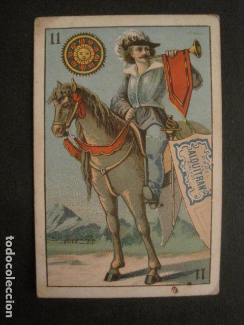 PAPEL DE FUMAR ALQUITRAN NORUEGO - NAIPE PUBLICIDAD- 11 OROS -VER FOTOS -(V- 10.096) (Coleccionismo - Objetos para Fumar - Papel de fumar )