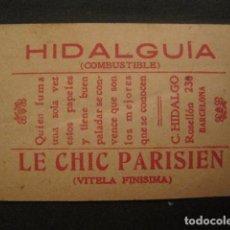 Papel de fumar: PAPEL FUMAR HIDALGUIA-LE CHIC PARISIEN-HIDALGO- CROMO REDOMA ENCANTADA 4-VER FOTOS - (V- 10.179). Lote 81558700