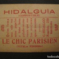 Papel de fumar: PAPEL FUMAR HIDALGUIA-LE CHIC PARISIEN-HIDALGO- CROMO REDOMA ENCANTADA 14-VER FOTOS - (V- 10.181). Lote 81559692