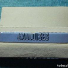 Papel de fumar: LIBRILLO DE PAPEL DE FUMAR - PAPELILLOS LIAR TABACO - GAULOISES - COLECCIÓN. Lote 84375048