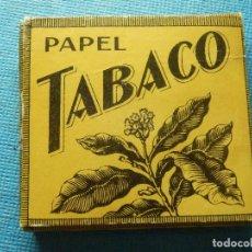Papel de fumar: LIBRILLO DE PAPEL DE FUMAR - PAPELILLOS LIAR TABACO - PAPEL TABACO - MIQUEL Y COSTAS - COLECCIÓN. Lote 84375452