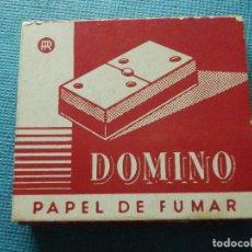 Papel de fumar: LIBRILLO DE PAPEL DE FUMAR - PAPELILLOS LIAR TABACO - DOMINO - PAPELERAS REUNIDAS - COLECCIÓN. Lote 84419964