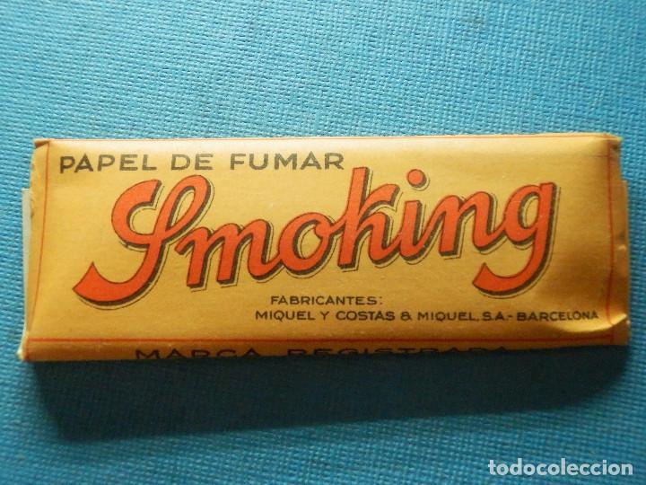 LIBRILLO DE PAPEL DE FUMAR - PAPELILLOS LIAR TABACO - SMOKING - PAPEL DE ARROZ - COLECCIÓN (Coleccionismo - Objetos para Fumar - Papel de fumar )