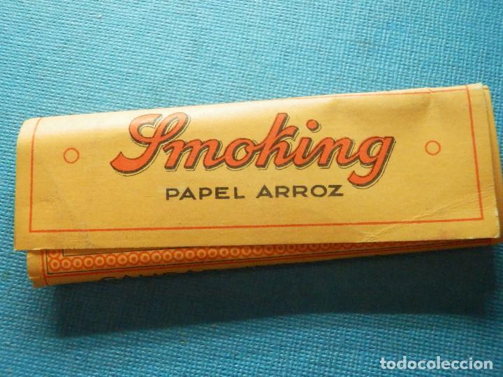 Papel de fumar: LIBRILLO DE PAPEL DE FUMAR - PAPELILLOS LIAR TABACO - SMOKING - PAPEL DE ARROZ - COLECCIÓN - Foto 2 - 84420804