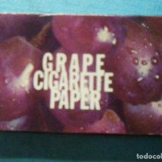 Papel de fumar: LIBRILLO DE PAPEL DE FUMAR - PAPELILLOS LIAR TABACO - GRAPE CIGARRETTE PAPER - JOY - NEW YORK. Lote 84421176