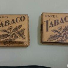 Papel de fumar: PAQUETES DE PAPEL TABACO SMOKING. Lote 84460207