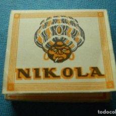 Papel de fumar: LIBRILLO DE PAPEL DE FUMAR - PAPELILLOS LIAR TABACO - NIKOLA - COLECCIÓN. Lote 84506860