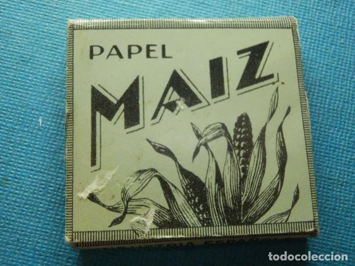 LIBRILLO DE PAPEL DE FUMAR - PAPELILLOS LIAR TABACO - MAIZ - MIQUEL Y COSTAS - COLECCIÓN (Coleccionismo - Objetos para Fumar - Papel de fumar )