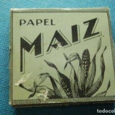 Papel de fumar: LIBRILLO DE PAPEL DE FUMAR - PAPELILLOS LIAR TABACO - MAIZ - MIQUEL Y COSTAS - COLECCIÓN. Lote 84507704