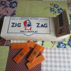 Papel de fumar: LOTE PAPEL DE FUMAR ZIG ZAG. Lote 86154988