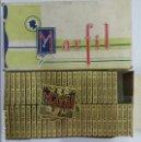 Papel de fumar: PAPEL DE FUMAR MARFIL, CAJA CON 50 LIBRILLOS, ANTIGUO, ALCOY, ALICANTE. Lote 87242824