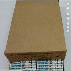 Papel de fumar: PAPEL DE FUMAR LA BASCULA, CAJA CON 100 LIBRILLOS, ANTIGUO, ALCOY, ALICANTE. Lote 87243744