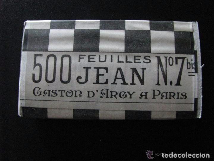 LIBRILLO DE PAPEL DE FUMAR EN BLOQUE DE 500 - JEAN 500 Nº7 - (Coleccionismo - Objetos para Fumar - Papel de fumar )