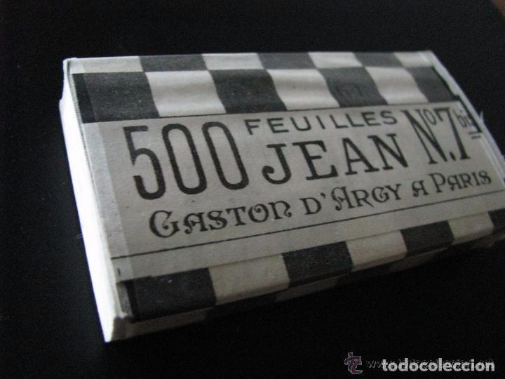 Papel de fumar: Librillo de papel de fumar en bloque de 500 - Jean 500 nº7 - - Foto 2 - 148573393