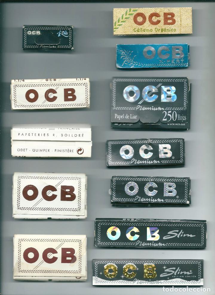 BOLLORE OCB COLLECTION LOTE LIBRILLOS PAPEL DE LIAR FUMAR PREMIUM X-PERT CAÑAMO SLIM LIMITED EDITION (Coleccionismo - Objetos para Fumar - Papel de fumar )