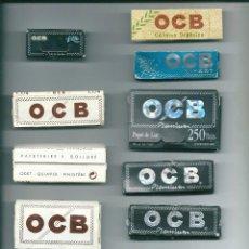 Papel de fumar: BOLLORE OCB COLLECTION LOTE LIBRILLOS PAPEL DE LIAR FUMAR PREMIUM X-PERT CAÑAMO SLIM LIMITED EDITION. Lote 89306132