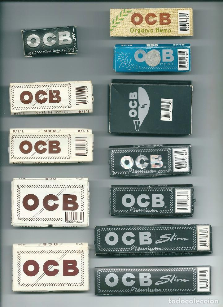 Papel de fumar: BOLLORE OCB COLLECTION LOTE LIBRILLOS PAPEL DE LIAR FUMAR PREMIUM X-PERT CAÑAMO SLIM LIMITED EDITION - Foto 2 - 89306132