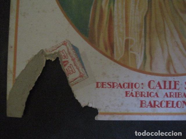 Papel de fumar: PAPEL DE FUMAR JARAMAGO VALADIA-CARTEL CARTON 33 X 48 CM-ILUSTRADO POR CERVELLO-VER FOTOS-(V-11.753) - Foto 4 - 91120615