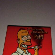 Papel de fumar: PAPEL DE FUMAR DE LOS SIMPSONS. Lote 235563330
