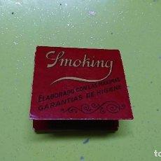 Papel de fumar: LIBRILLO DE PAPEL DE FUMAR SMOKING, PAPEL DE ARROZ. Lote 95485691