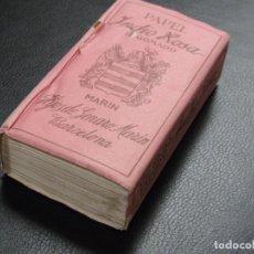 Papel de fumar: RARO PAPEL DE FUMAR INDIO ROSA 500, CIRCA 1930, BARCELONA.. Lote 97462463