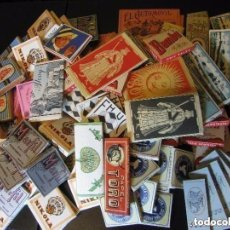 Papel de fumar: LOTE DE 120 LIBRILLOS DE PAPEL DE FUMAR ANTIGUOS LA MAYORÍA DE ALCOY. Lote 97725787
